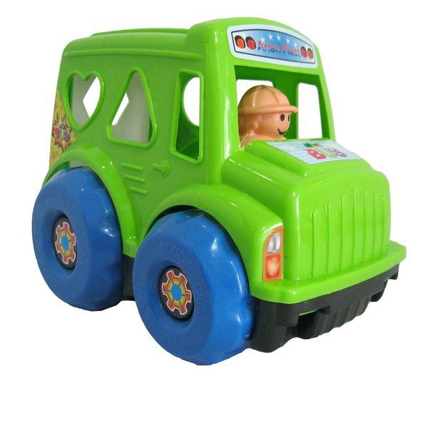 ماشین اسباب بازی هوش مدل اتوبوس اشکال