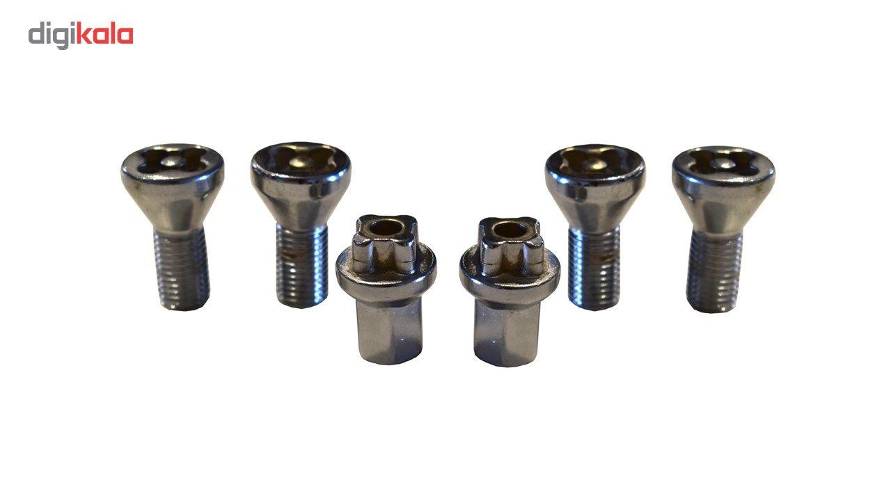 قفل رینگ چرخ مدل فابریک ساده مناسب برای پراید main 1 1