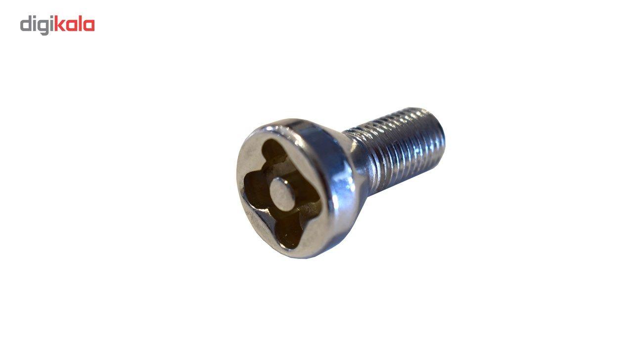 قفل رینگ چرخ مدل فابریک ساده مناسب برای پراید main 1 2