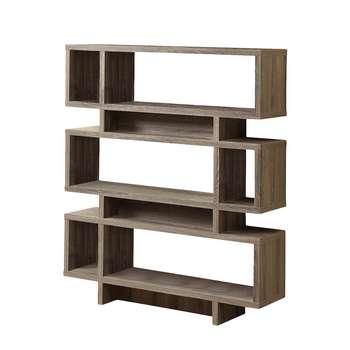 قفسه کتاب سرو چوب مدل 6 Level