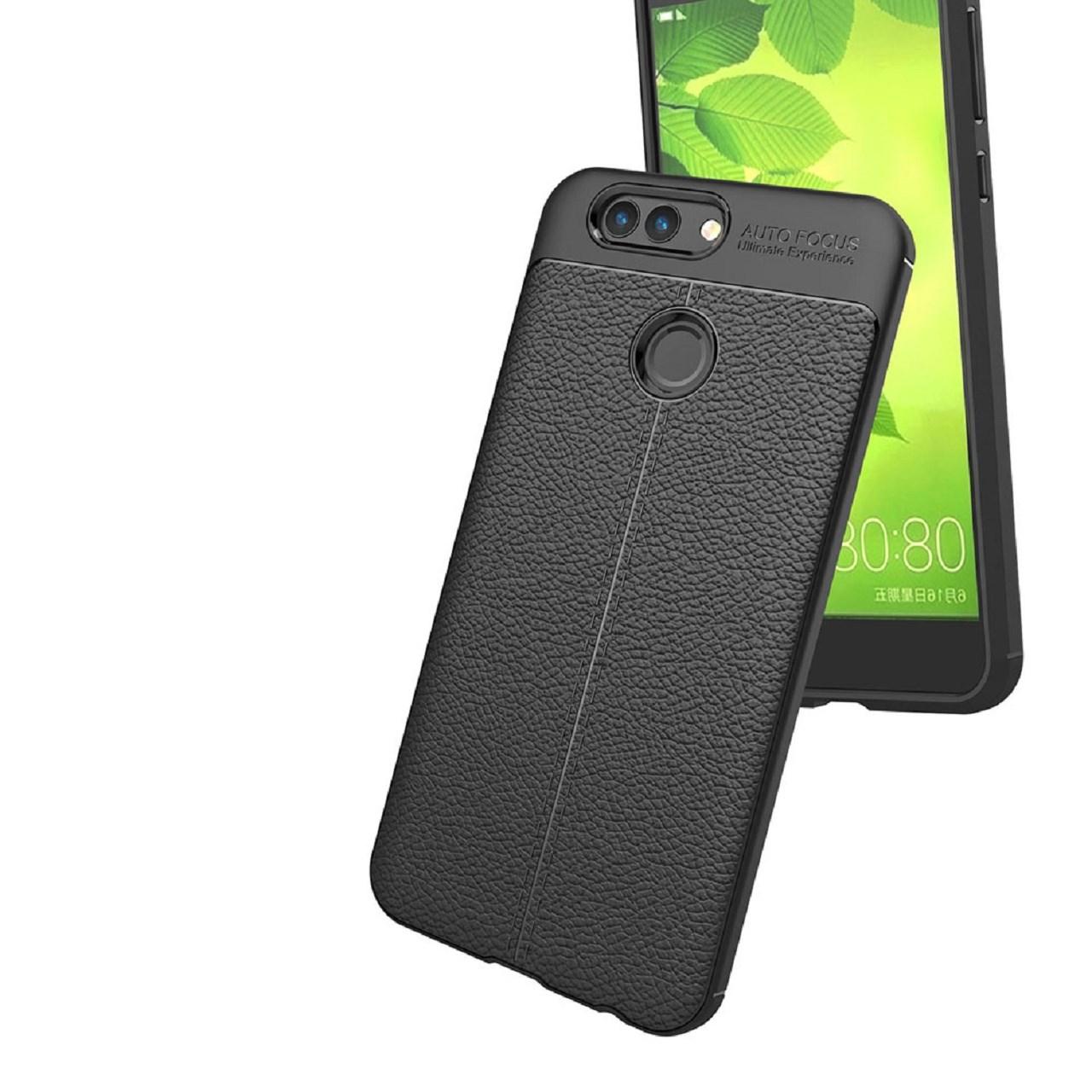 کاور ژله ای طرح چرم مدل مناسب برای گوشی موبایل هواوی Huawei NOVA2 Plus