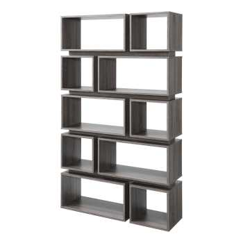 قفسه کتاب سرو چوب مدل Decorative Display