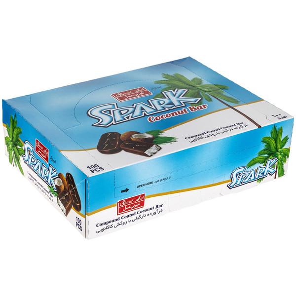 فرآورده نارگیلی با روکش کاکائویی شیرین عسل مقدار 800 گرم