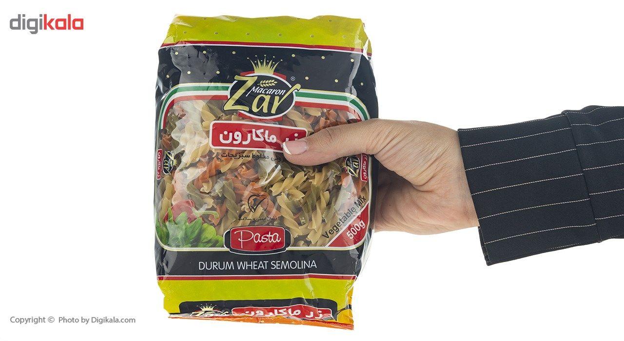 ماکارونی پیکولی سبزیجات زر ماکارون مقدار 500 گرم main 1 4