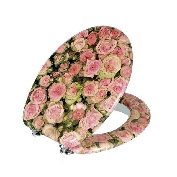 درپوش توالت فرنگی ونکو مدل Light Rose