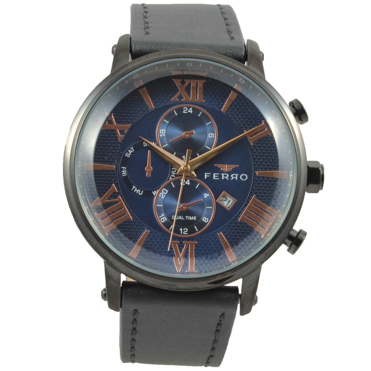 ساعت مچی عقربه ای مردانه فرو مدل F61509-622-G
