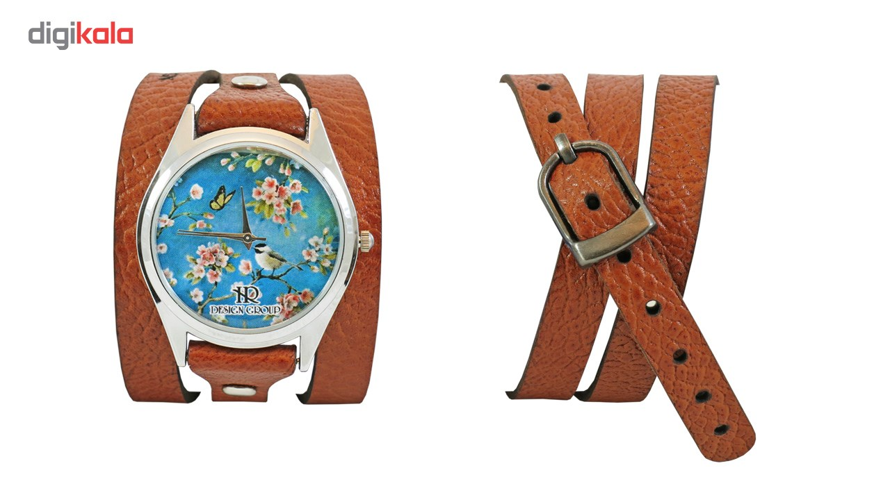 ساعت دست ساز اچ آر دیزاین گروپ مدل 003