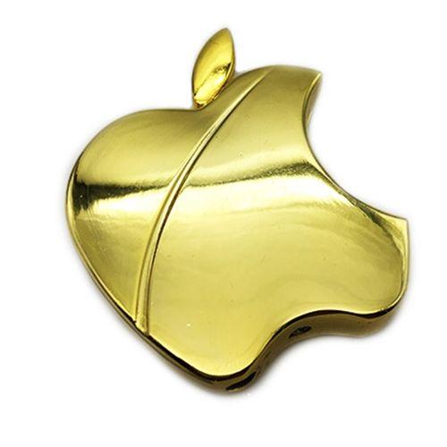فندک کیوسک گالری طرح Apple Gold مدل L21