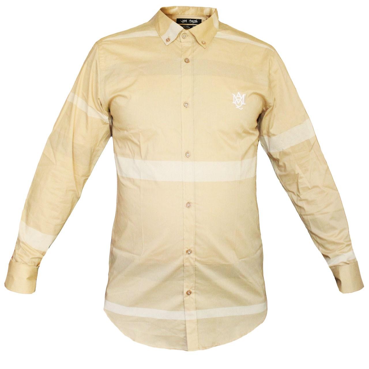 پیراهن مردانه فول شاپ  مدل 4005