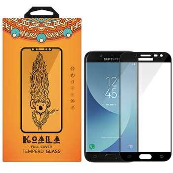 محافظ صفحه نمایش شیشه ای کوالا مدل Full Glue مناسب برای گوشی موبایل سامسونگ Galaxy J5 Pro