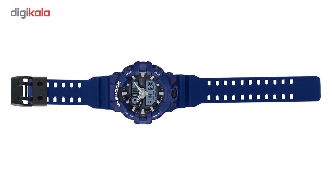 ساعت مچی عقربه ای مردانه کاسیو مدل GA-700-2ADR