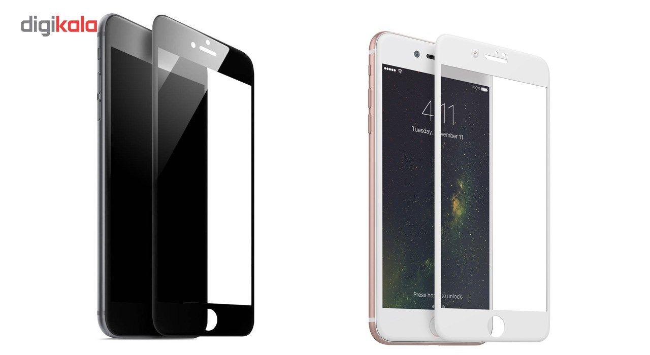 محافظ صفحه نمایش آر جی مدل Full Cover مناسب برای گوشی موبایل آیفون 8 main 1 2