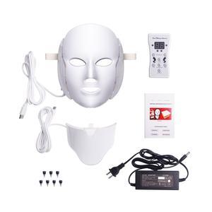 دستگاه جوان سازی پوست یونی پاور مدل ماسک ال ای دی 7 colors