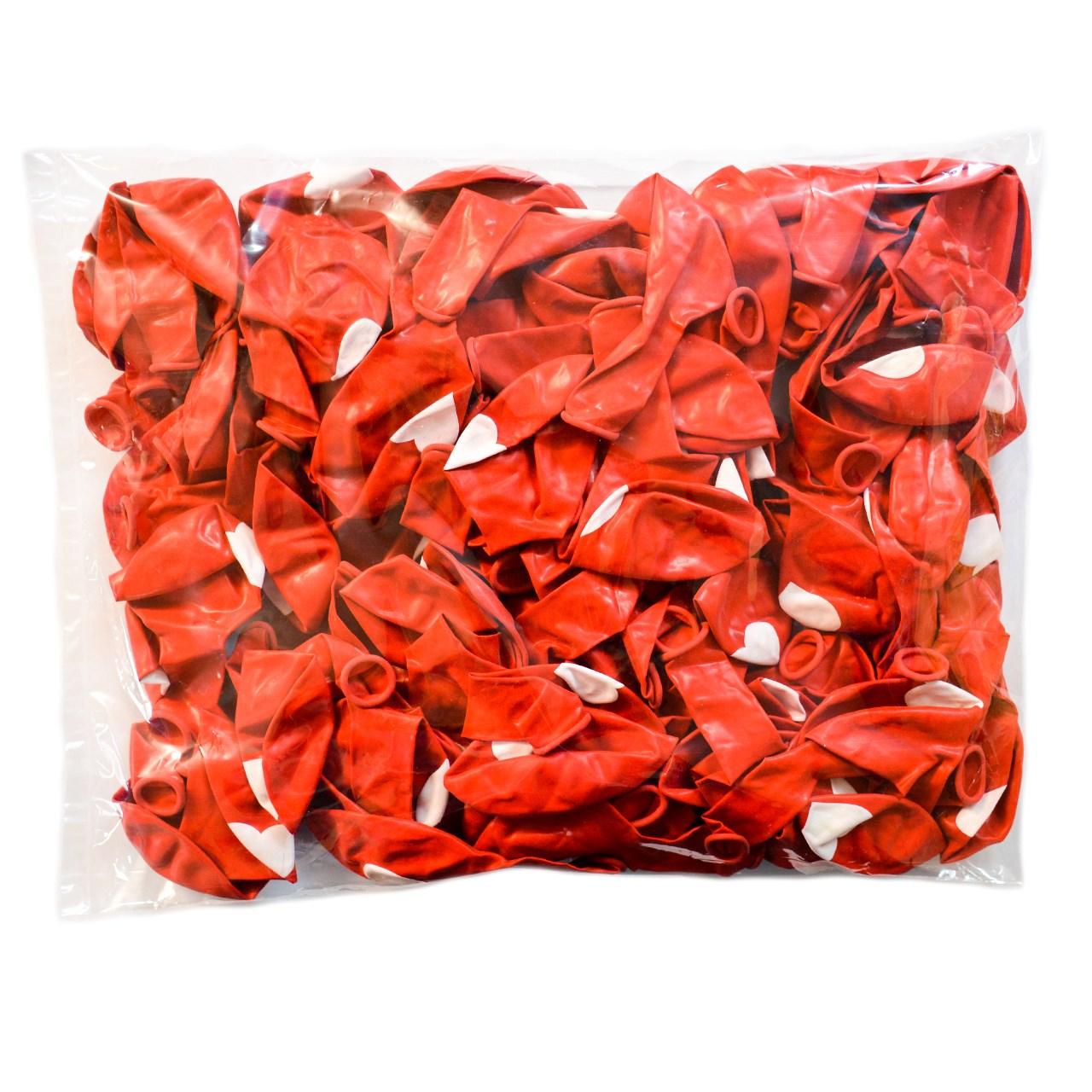 عکس بادکنک طرح قلب مدل 01 بسته 100 عددی