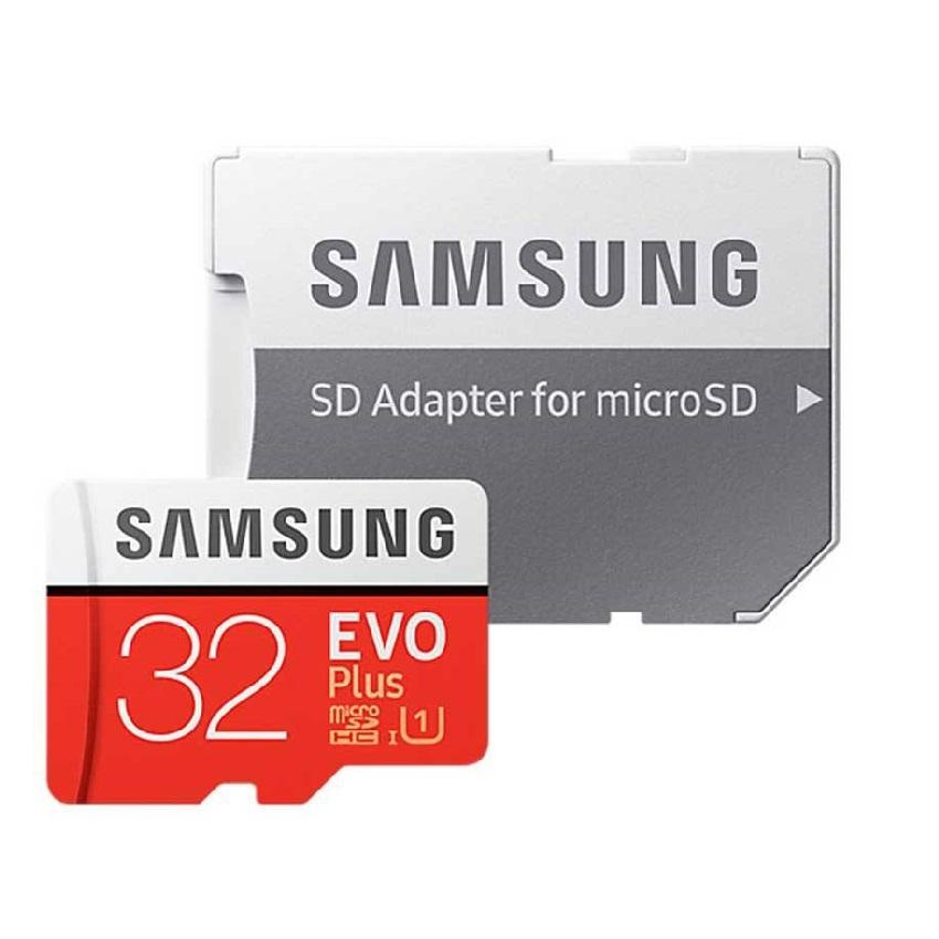 کارت حافظه microSDHC مدل Evo Plus کلاس 10 استاندارد UHS-I U1 سرعت 95MBps ظرفیت 32 گیگابایت به همراه با آداپتور SD                     غیر اصل