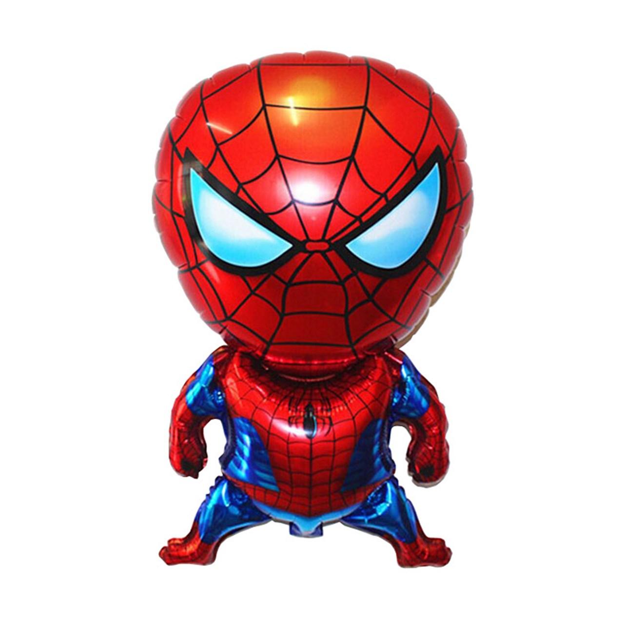 عکس بادکنک  فویلی سورتک مدل مرد عنکبوتی