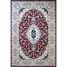 فرش ماشینی ساوین کد 2104 زمینه لاکی