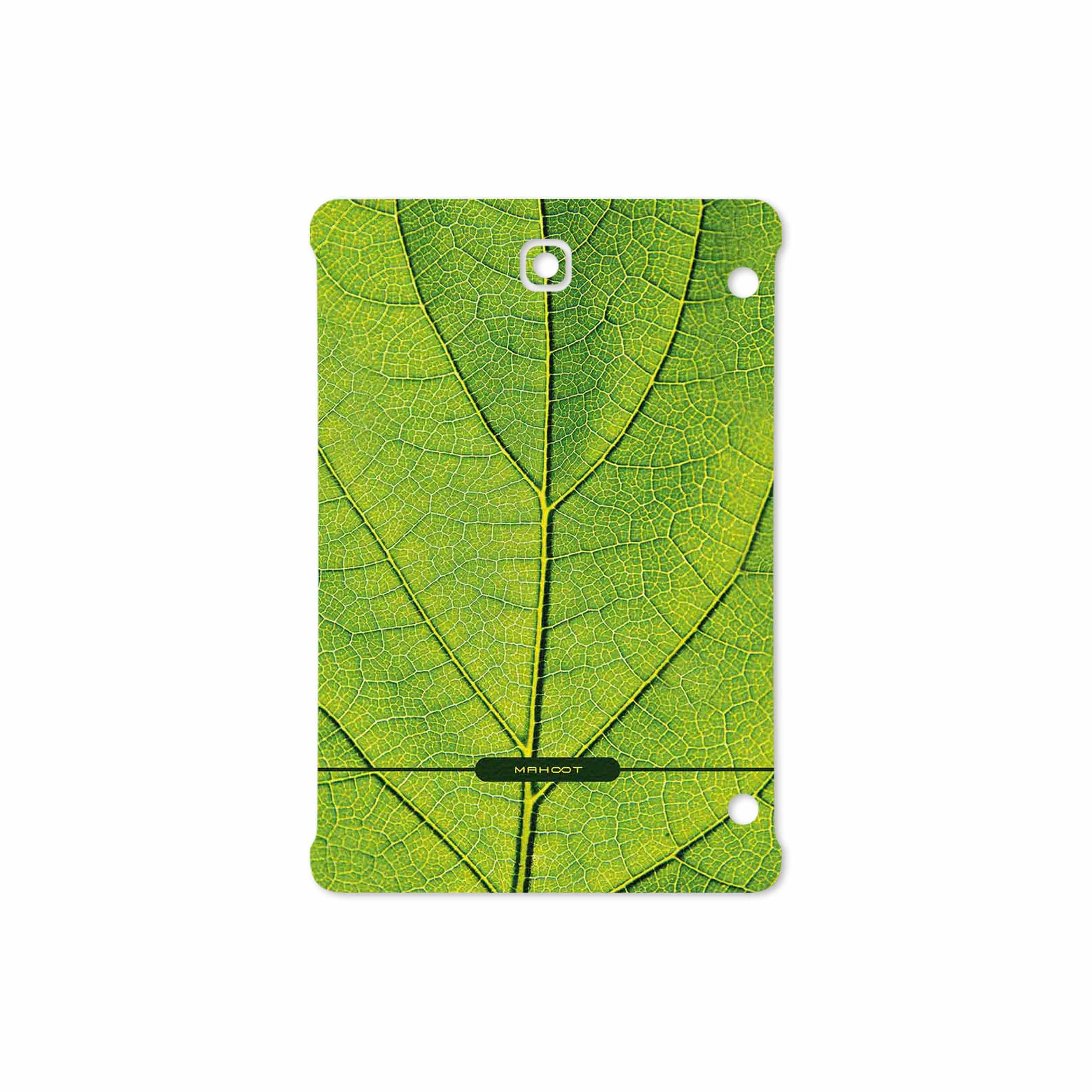 بررسی و خرید [با تخفیف]                                     برچسب پوششی ماهوت مدل Leaf-Texture مناسب برای تبلت سامسونگ Galaxy Tab S2 8.0 2016 T719N                             اورجینال