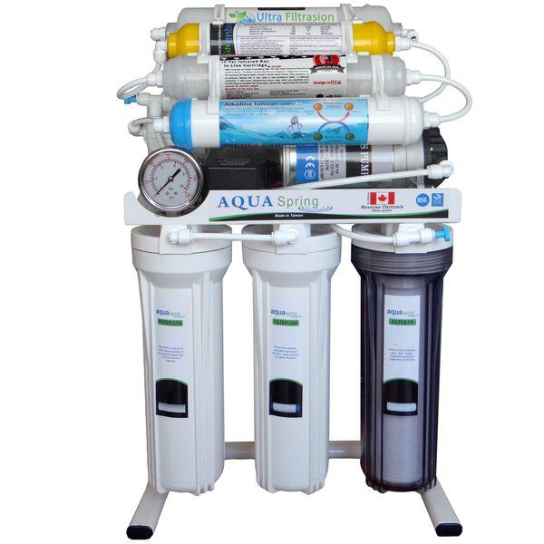 دستگاه تصفیه کننده آب آکوآ اسپرینگ مدل RO - NF2800
