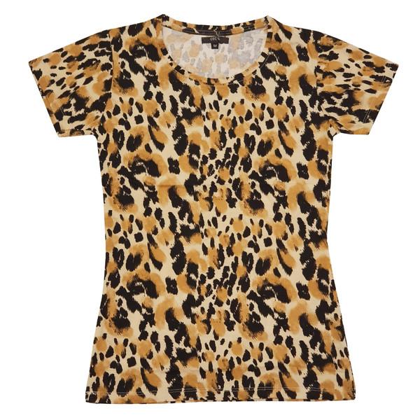 تی شرت آستین کوتاه زنانه سسیل مدل TSF14