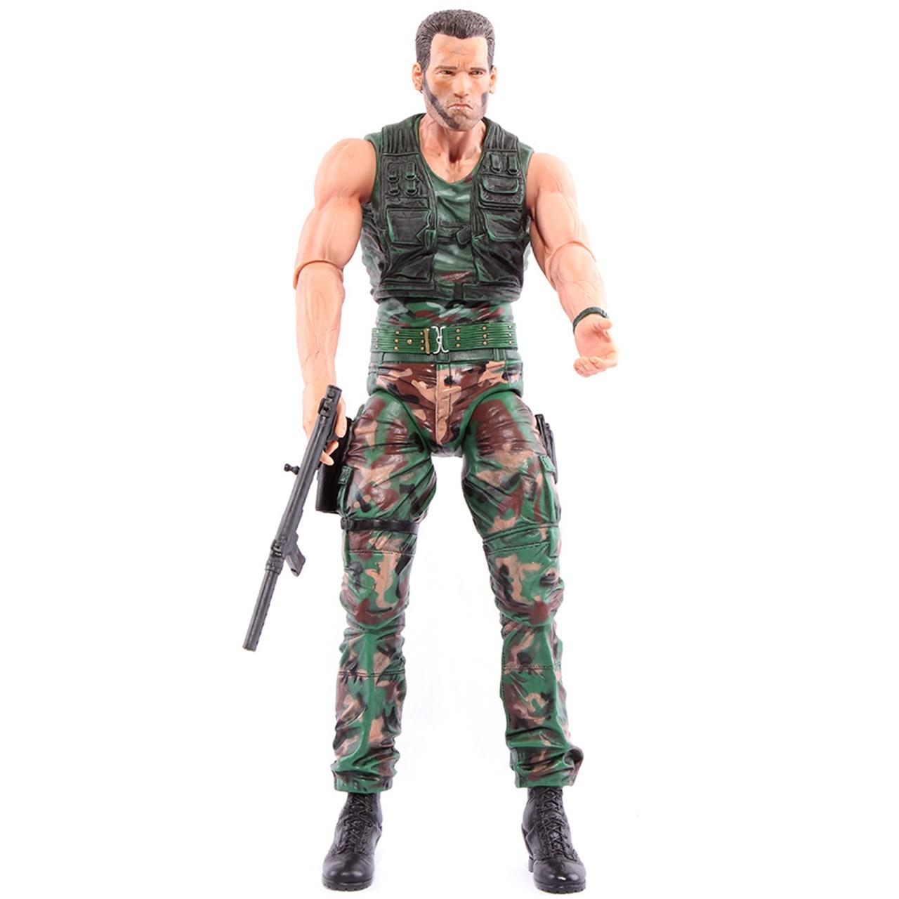 اکشن فیگور آرنولد مدل Predator Jungle Patrol Dutch