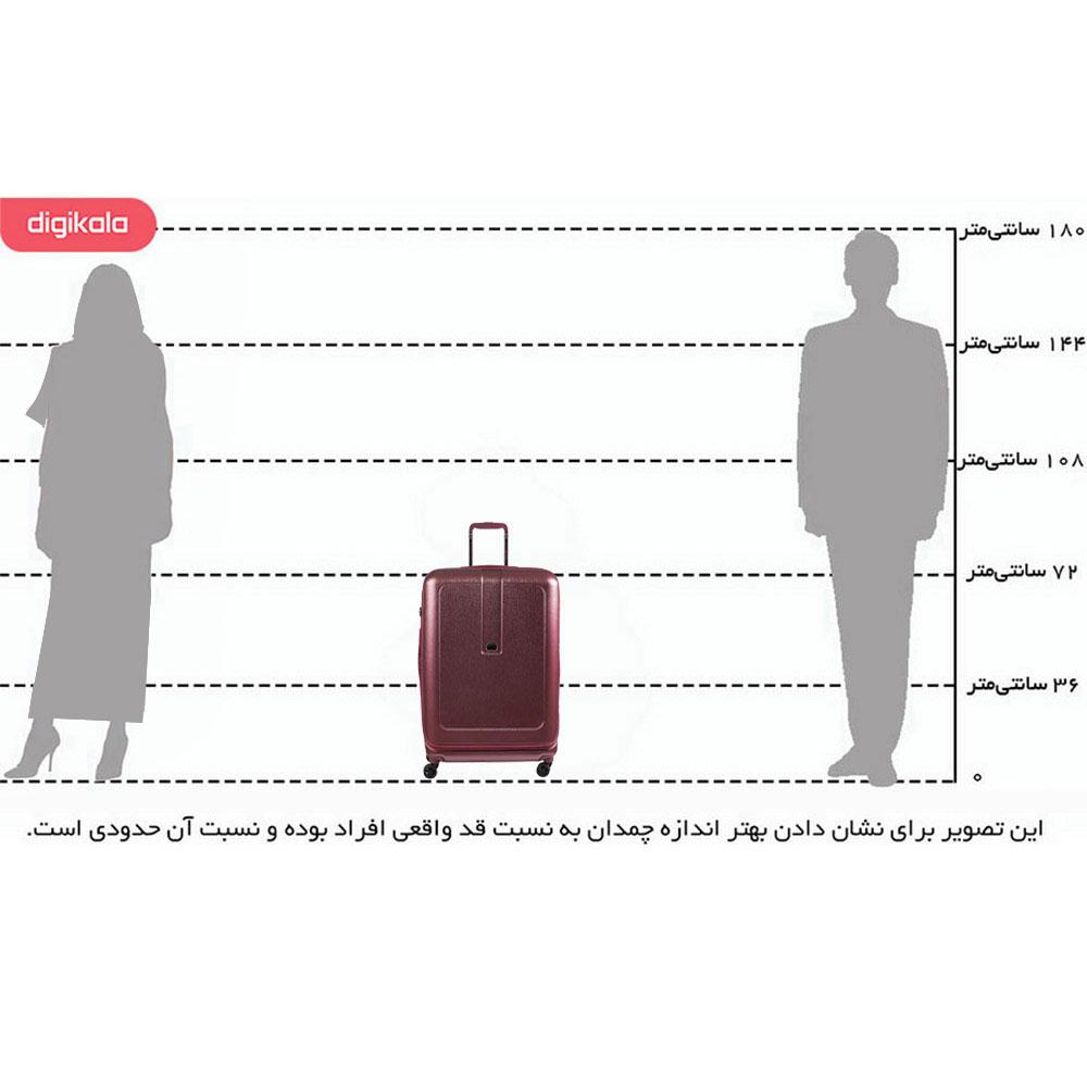 چمدان دلسی مدل Grenelle infographic
