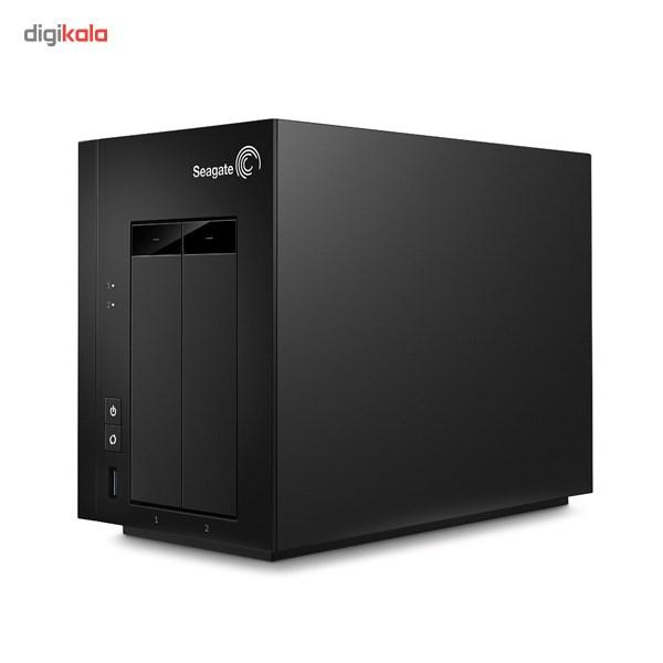 ذخیره ساز تحت شبکه سیگیت مدل 2Bay STCT4000200 ظرفیت 4 ترابایت