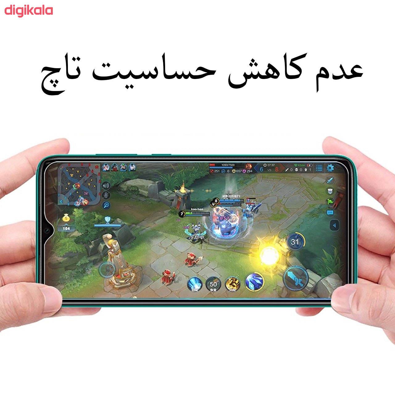 محافظ صفحه نمایش مدل FCG مناسب برای گوشی موبایل شیائومی Redmi 9 main 1 2