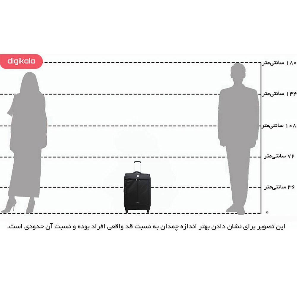 چمدان دلسی مدل Flight infographic