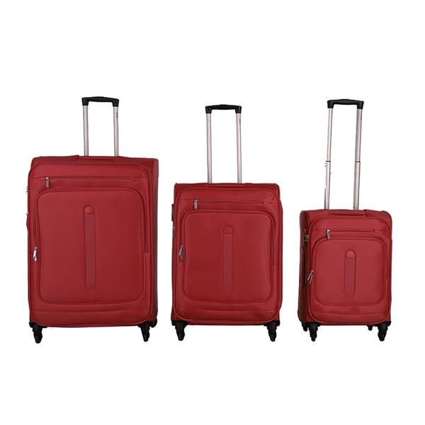 مجموعه سه عددی چمدان دلسی مدل Manitoba