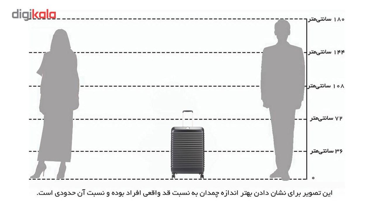 چمدان دلسی مدل Bastille سایز متوسط -  - 10