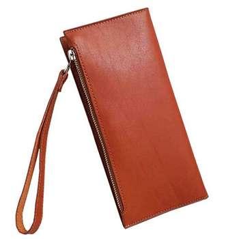 کیف پول و موبایل چرم آنیل مدل رایان
