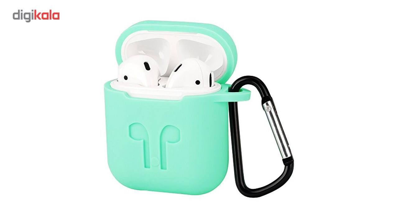 کاور محافظ سیلیکونی مناسب برای کیس Apple AirPods main 1 7