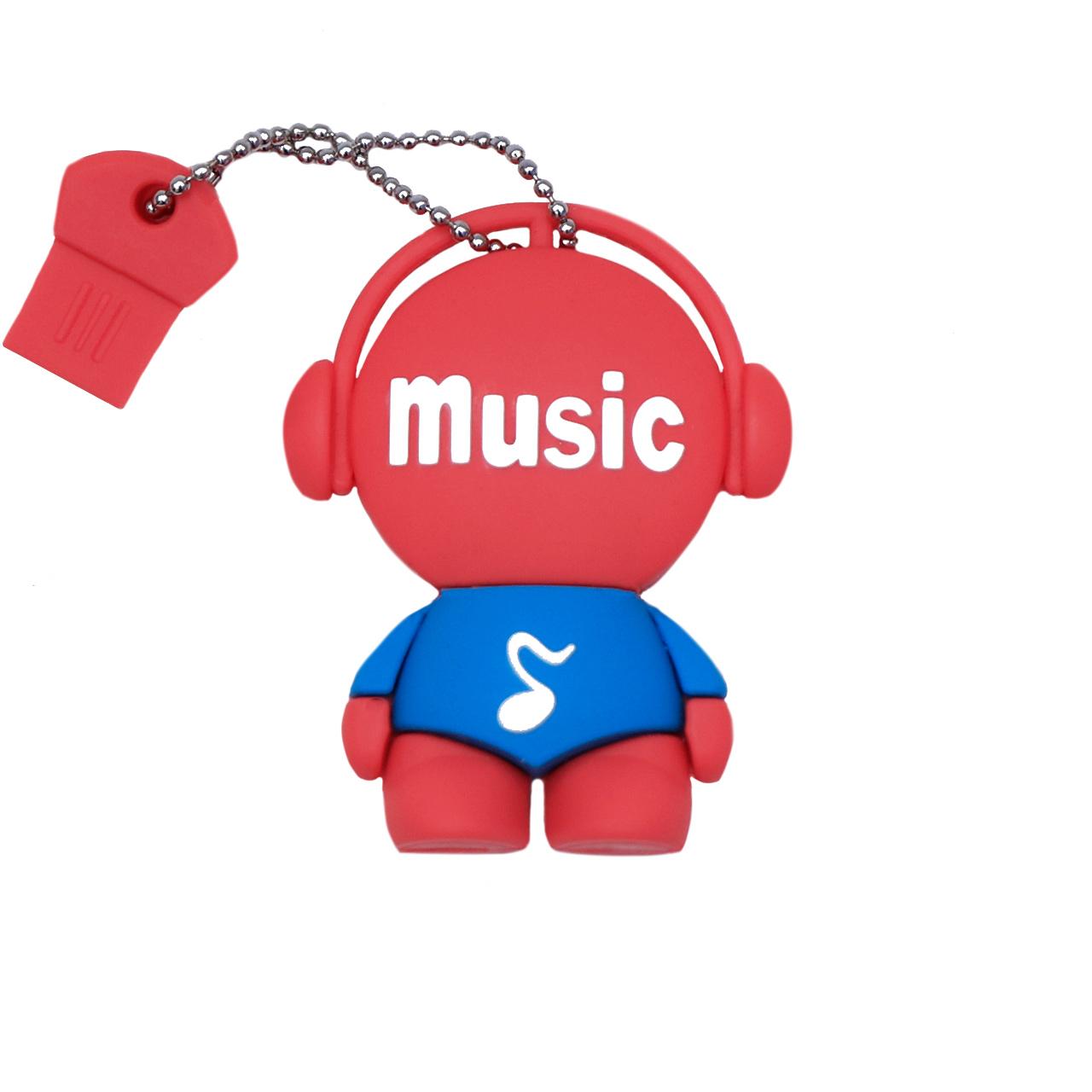 بررسی و خرید [با تخفیف]                                     فلش مموری طرح موزیک من مدل DPL1123-U3 ظرفیت 128 گیگابایت                             اورجینال