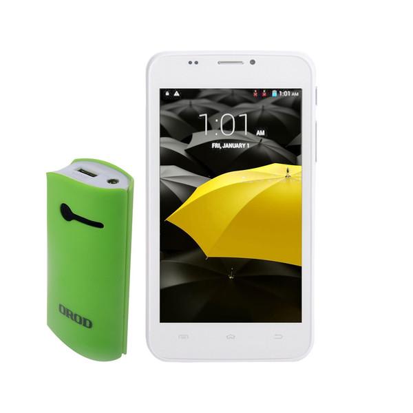 گوشی موبایل کن شین دا مدل Delta دو سیم کارت به همراه یک شارژر همراه و یک کاور