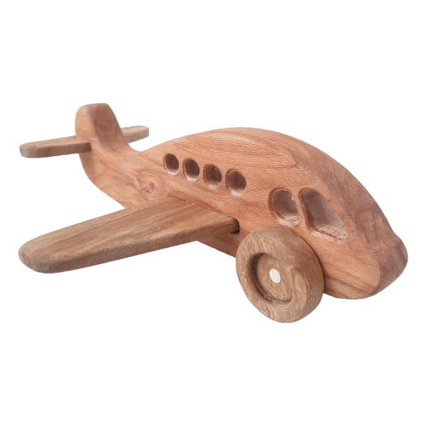 اسباب بازی چوبی مدل هواپیما کد 63