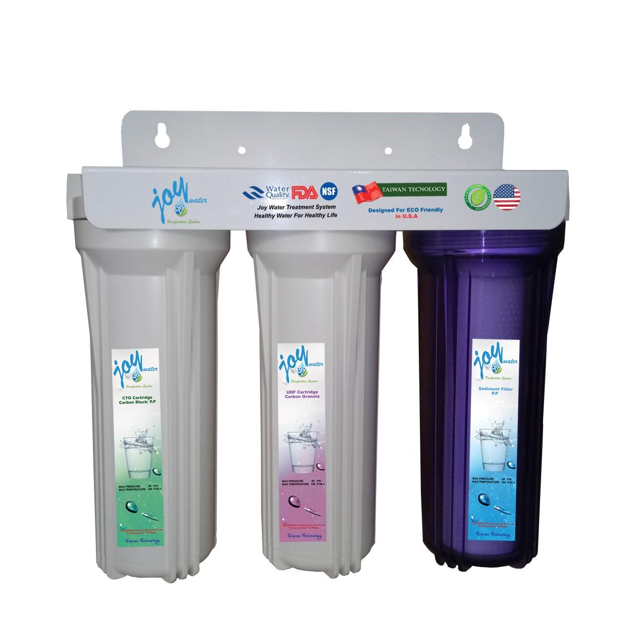 دستگاه تصفیه آب خانگی جوی واتر مدل JW3s