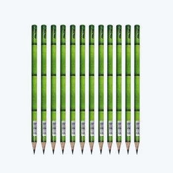 مداد مشکی فکتیس طرح بامبو کد 04 بسته 12 عددی