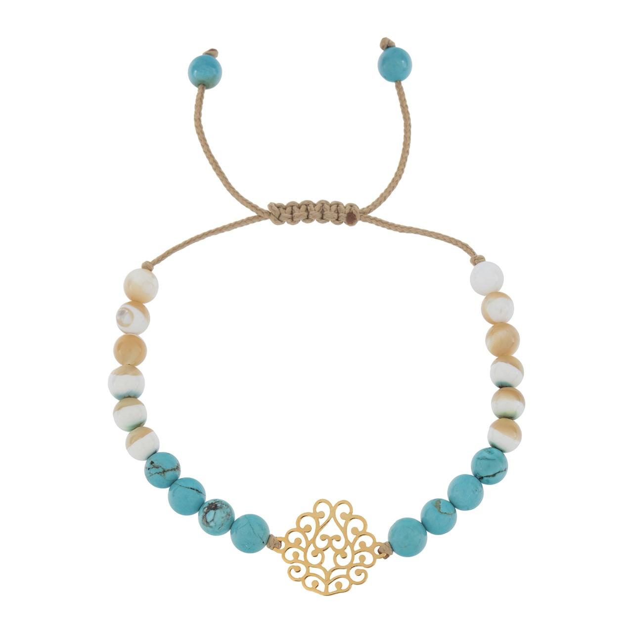 قیمت دستبند طلا 18 عیار ماهک مدل MB0544 - مایا ماهک