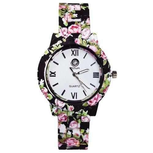 ساعت مچی عقربه ای زنانه  مویا مدل Flower-04