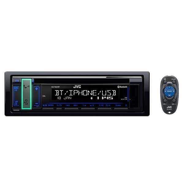 پخش کننده خودرو جی وی سی مدل KD-T901BT