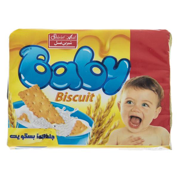 بیسکوییت کودک شیرین عسل مقدار 65 گرم