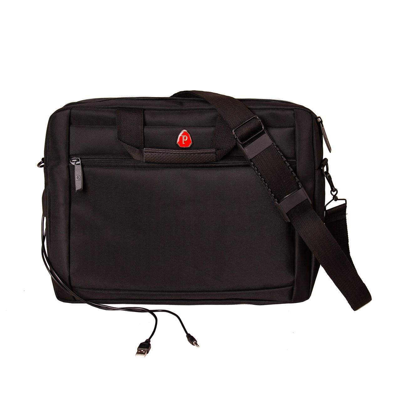 کیف لپ تاپ مدرن کیف پارسیان مدل Cat مناسب برای لپ تاپ 15.4 اینچی