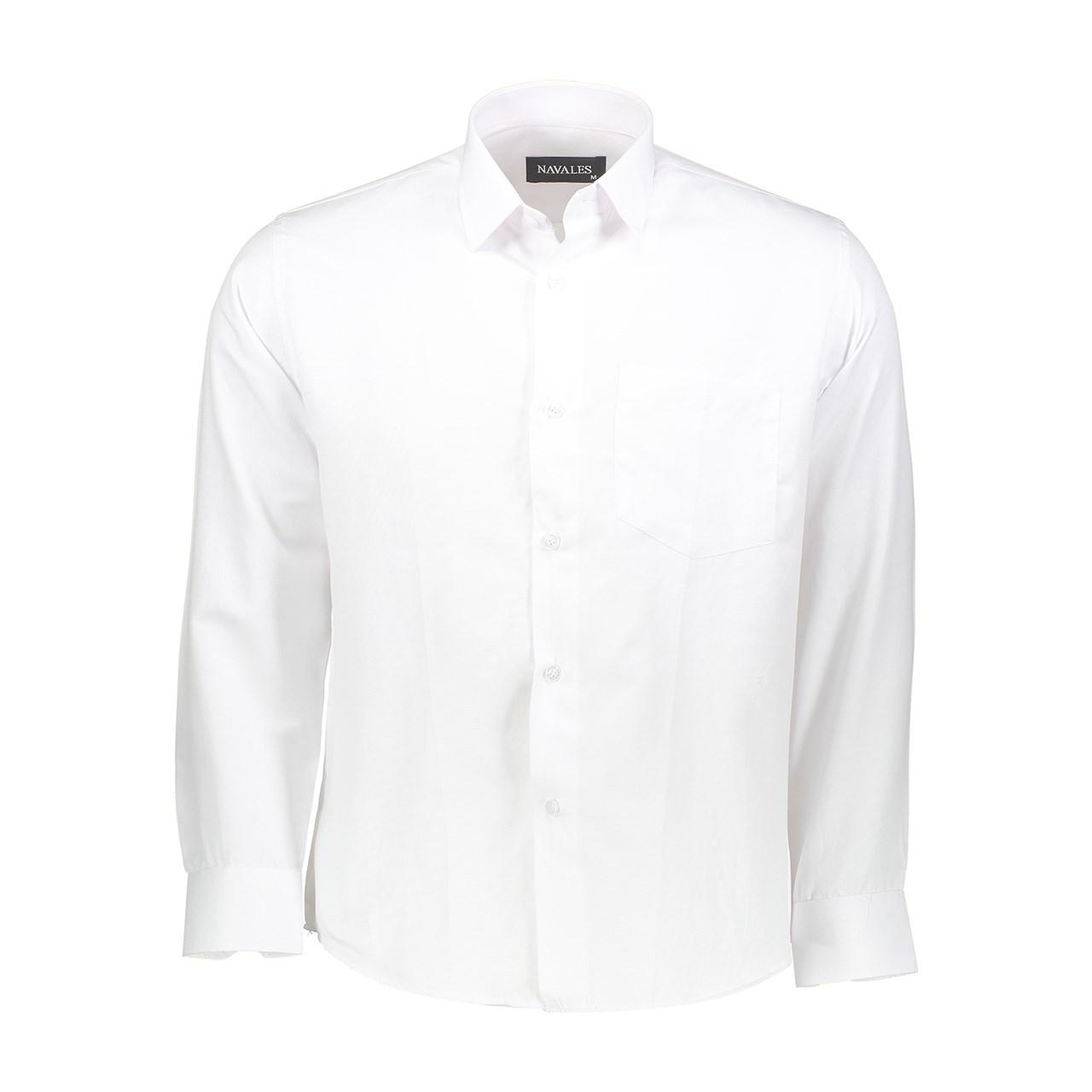 پیراهن مردانه ناوالس مدل OX8020WH
