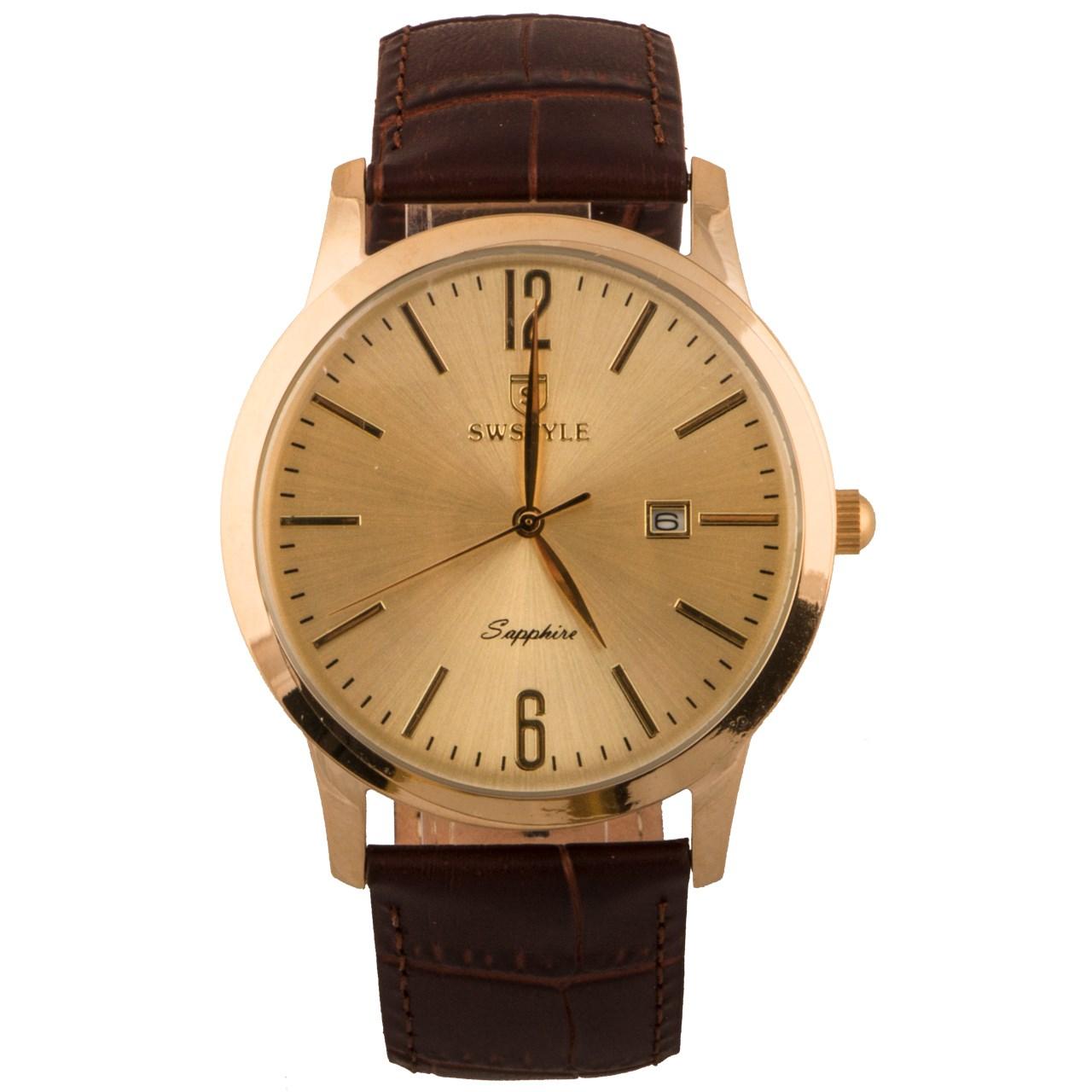 ساعت مچی عقربه ای مردانه سوییستایل مدل 42062