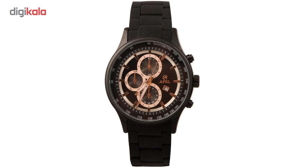 خرید ساعت مچی عقربه ای مردانه آفل مدل 1010