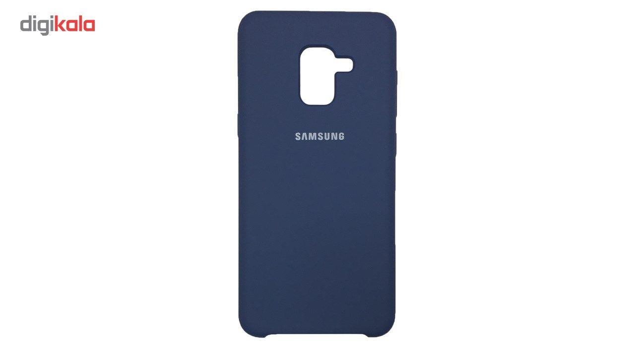 کاور سیلیکونی مناسب برای گوشی موبایل سامسونگ Galaxy A8 2018 main 1 7