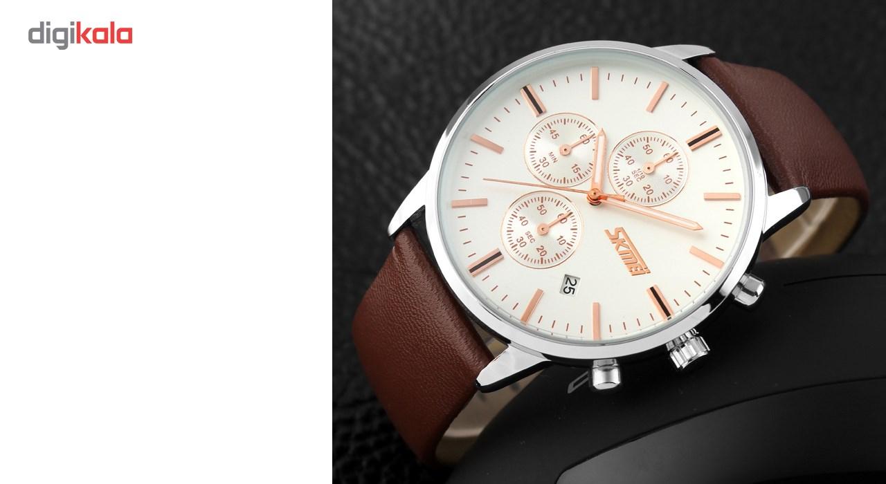 خرید ساعت مچی عقربه ای مردانه اسکمی مدل 9103  کد 03 | ساعت مچی