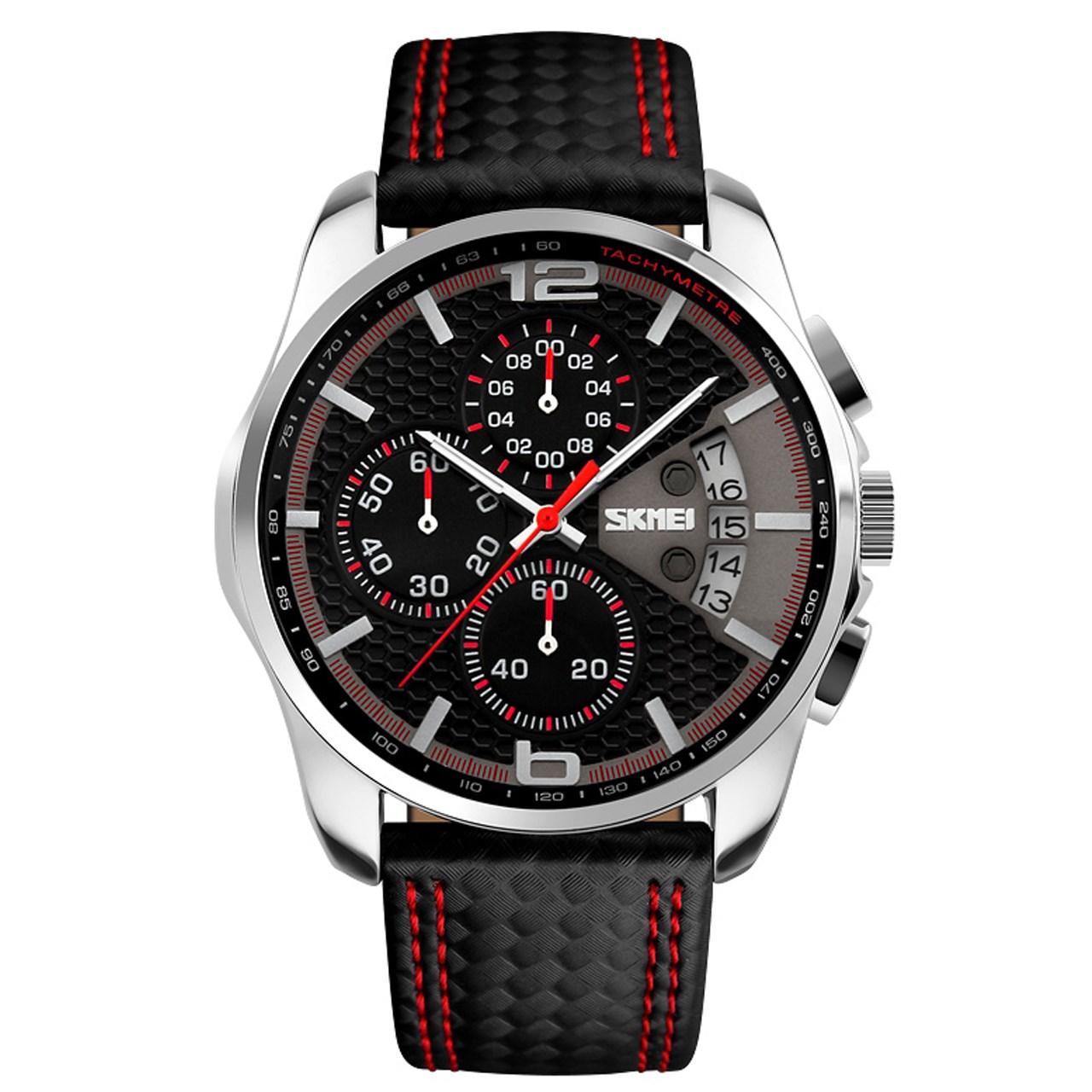 ساعت مچی عقربه ای مردانه اسکمی مدل 9106  کد 01