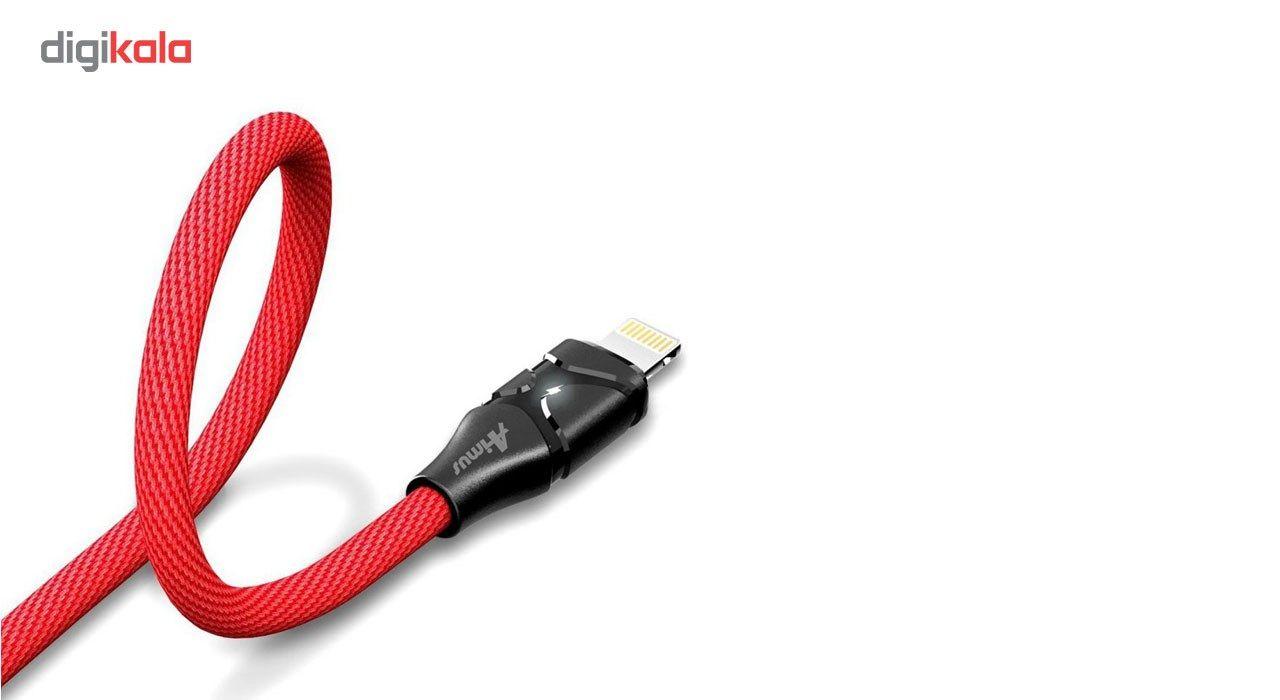 کابل تبدیل USB به لایتنینگ آیفون آیماس مدل Cotton به طول 1.8 متر main 1 3